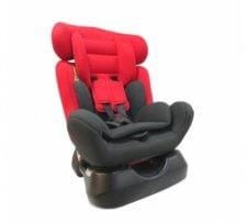 כיסא בטיחות משולב בוסטר איזי גו Easy Go מבית דיפנדר Defender בצבע אדום