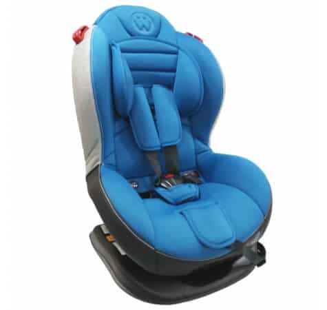 כיסא בטיחות משולב בוסטר סמארט ספורטSmart Sportמבית וולדון Welldon בצבע כחול