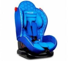 כיסא בטיחות משולב בוסטר סמארט ספורטSmart Sportמבית וולדון Welldon בצבע כחול פרחוני