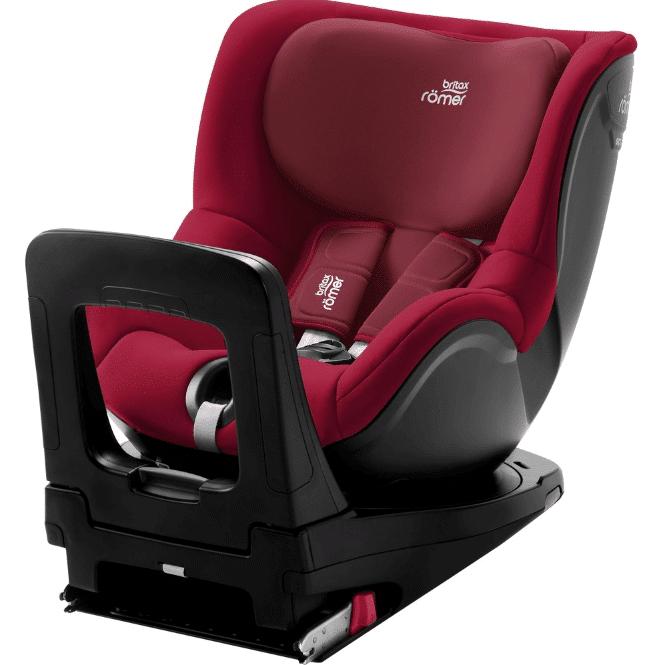כיסא בטיחות מסתובב דואלפיקסDualfix מבית ברייטקס Britax בצבע אדום