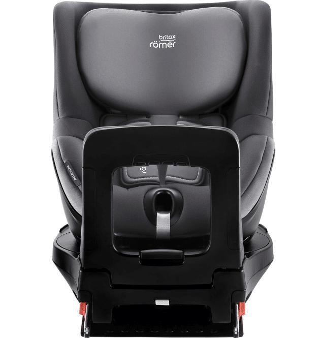 כיסא בטיחות מסתובב דואלפיקסDualfix ברייטקס Britax בצבע אפור