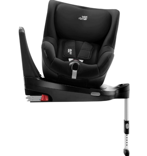 כיסא בטיחות מסתובב דואלפיקסDualfix מבית ברייטקס Britax בצבע שחור