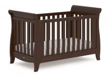 מיטת תינוק Sleigh Expandable מוקה מבית Boori