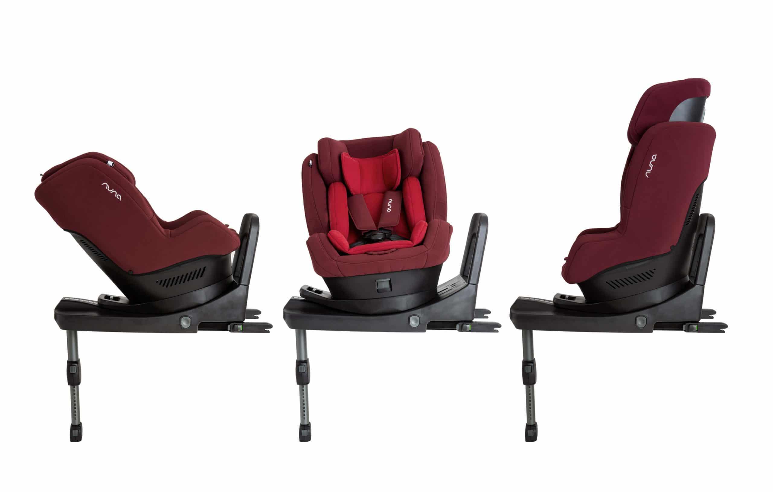 כיסא בטיחות רייבל אדום נונה