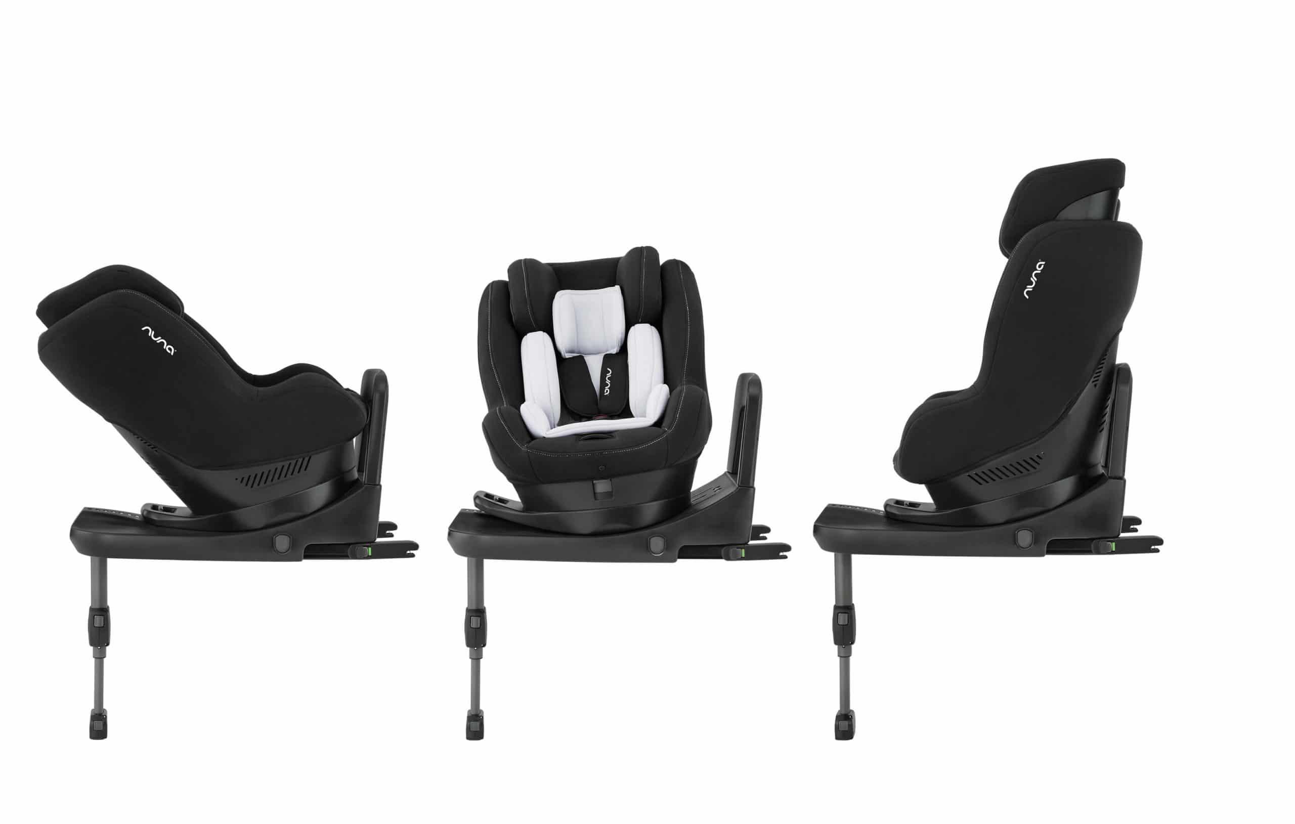 כיסא בטיחות רייבל שחור נונה