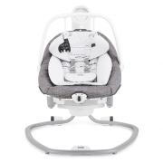 נדנדה חשמלית לתינוק סרינה 2 ב-1 אפור ג'ואי
