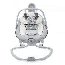 נדנדה לתינוק חשמלית סרינה 2 ב-1 אפור פסים ג'ואי