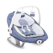 נדנדה חשמלית לתינוק סרינה 2 ב-1 כחול ג'ואי