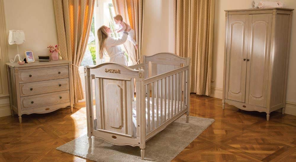 חדר תינוקות Grace שנהב מבית Boori