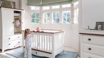 חדר תינוקות Provence שנהב מבית Boori באתר בייבי לאב