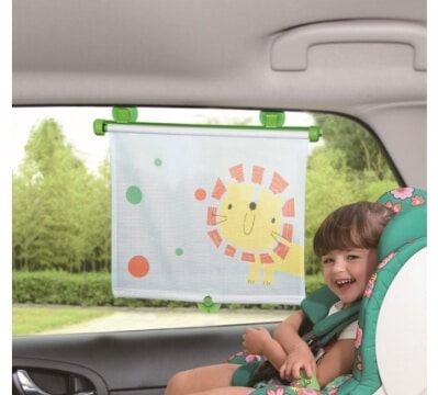 גליל הצללה לחלון רכב מבית בייבי מישל Baby Michel