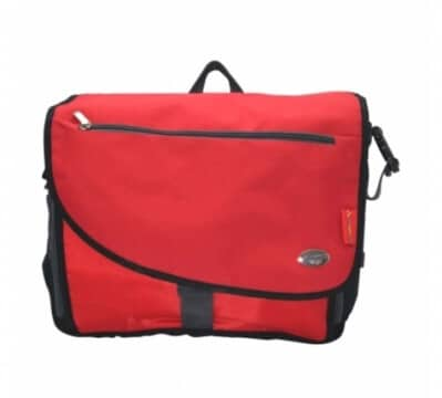 תיק החתלה דגם טרוול Travel מבית בייבי מישלBaby Michel בצבע אדום