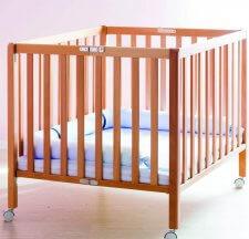 לול עץ לתינוק מבית רהיטי טל דגם מידד
