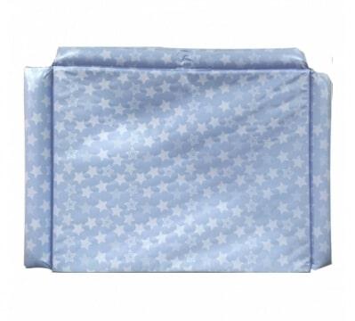 מזרן שידה פלסטיק מבית בייבי מישל Baby Michel בצבע כוכבים כחול