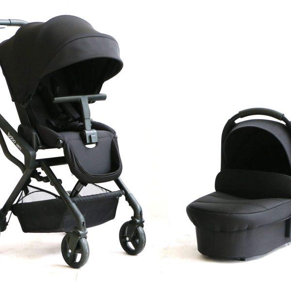 עגלת תינוק בובו זירוbobo zero מבית אונו Uno בצבע שחור