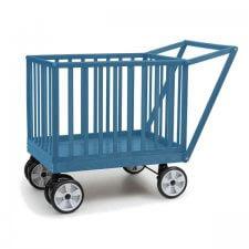 עגלול עץ קופי בייבי Coopy Baby מבית בייבי סייף Baby Safe בצבע כחול