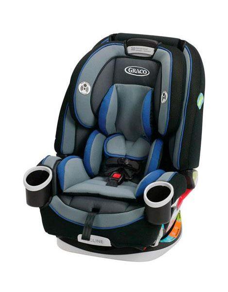 כסא בטיחות גרקו כחול
